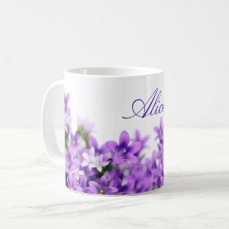 美しいbluebells コーヒーマグカップ