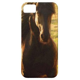 美しいFRIESIANの馬の種馬 iPhone SE/5/5s ケース