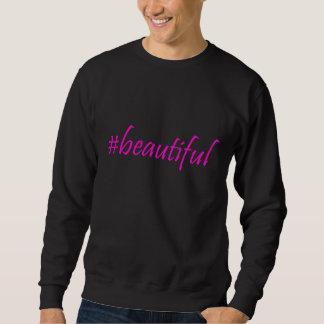 美しいHashtag スウェットシャツ