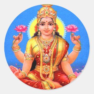 美しいLakshmi ラウンドシール