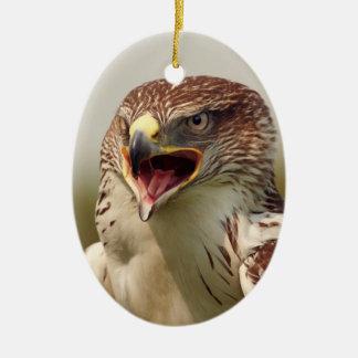 美しいLannerの《鳥》ハヤブサのオーナメント セラミックオーナメント