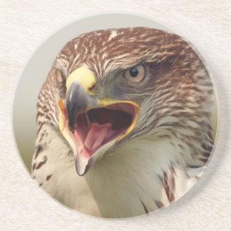 美しいLannerの《鳥》ハヤブサのコースター コースター