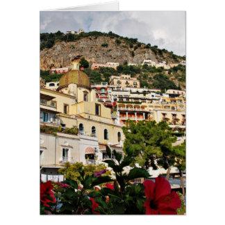 美しいPositano、イタリア カード