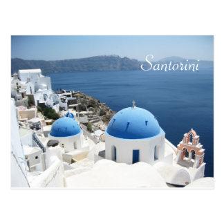美しいSantoriniギリシャ ポストカード