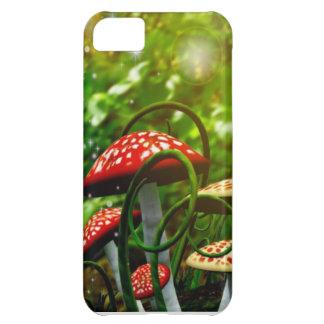 美しいtoadstoolの庭のiphoneの場合 iPhone5Cケース