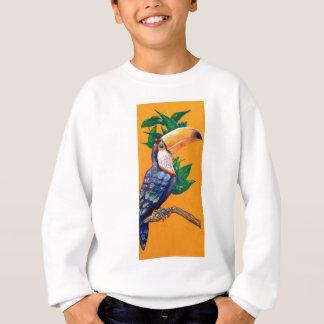 美しいToucanの鳥の絵画 スウェットシャツ