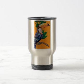 美しいToucanの鳥の絵画 トラベルマグ