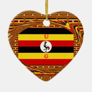 美しくすばらしいHakuna Matata美しいウガンダColo セラミックオーナメント