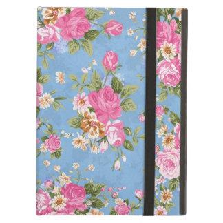 美しくエレガントでガーリーなヴィンテージのバラの花 iPad AIRケース