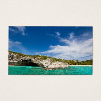 美しくカリブのな海岸 名刺