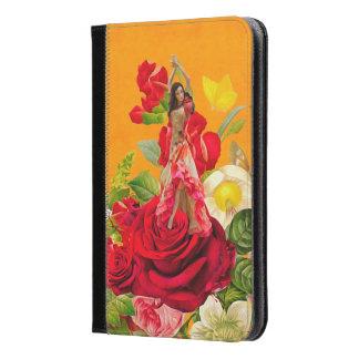 美しくスペインのなダンサーのバラ iPad MINIケース