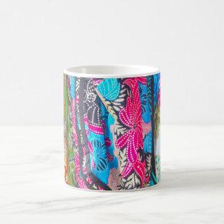 美しくパターン(の模様が)あるなスカーフのマグ コーヒーマグカップ