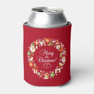 美しくメリーで小さいクリスマス のクーラーボックス 缶クーラー