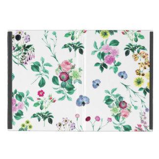 美しくロマンチックでガーリーな花のデザイン iPad MINI ケース