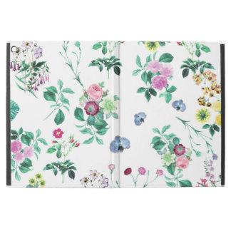"""美しくロマンチックでガーリーな花のデザイン iPad PRO 12.9"""" ケース"""