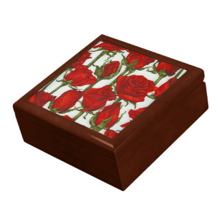 美しくロマンチックで赤いバラGiftbox、 ギフトボックス
