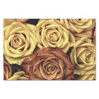 美しくロマンチックなヴィンテージのバラの写真 薄葉紙