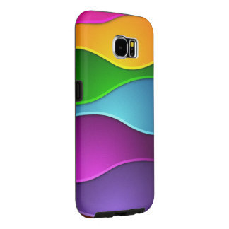 美しく多彩なベクトル芸術 SAMSUNG GALAXY S6 ケース