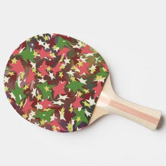 美しく多彩な渦巻く星 卓球ラケット