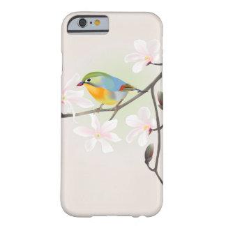 美しく小さい鳥および白いマグノリアのiPhone 6 iPhone 6 ベアリーゼアケース