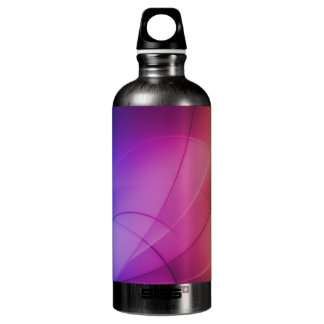 美しく抽象的な虹 ウォーターボトル