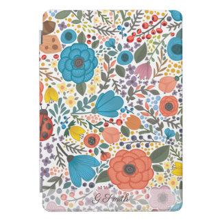 美しく描かれたおもしろいの春の花 iPad PROカバー