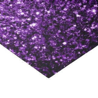 美しく暗い紫色のグリッターの輝き 薄葉紙