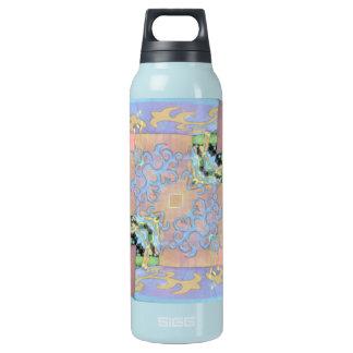 美しく柔らかいパステルのモダンな春パターン 断熱ウォーターボトル