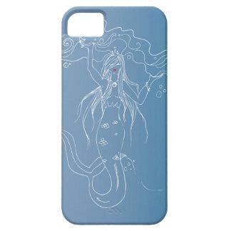 美しく白い人魚の電話箱 iPhone SE/5/5s ケース