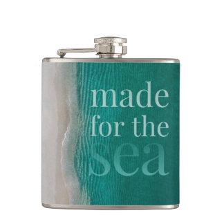 美しく白い砂浜 フラスク
