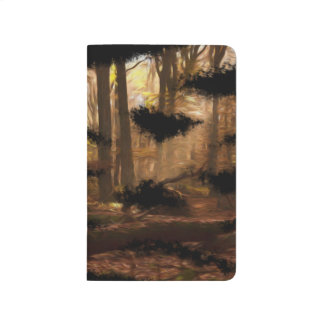 美しく芸術的な絵画のノート ポケットジャーナル
