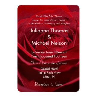美しく赤いバラ カード
