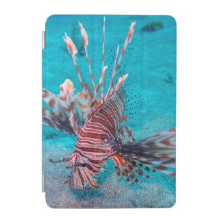 美しく赤いライオンの魚 iPad MINIカバー