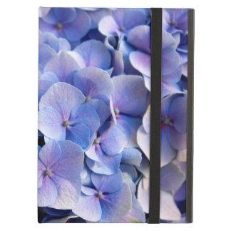 美しく青いアジサイの花 iPad AIRケース