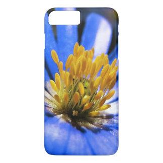 美しく青いアネモネの花 iPhone 8 PLUS/7 PLUSケース