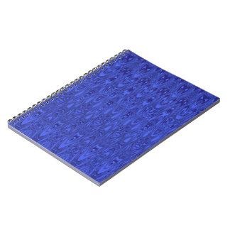 美しく青いパターンノート ノートブック