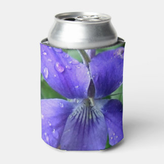 美しく青い花 缶クーラー