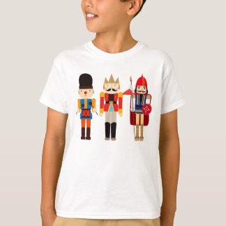 美しく、かわいいくるみ割りの兵士- Tシャツ