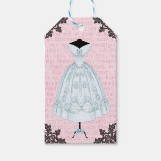 美しく、フェミニンなファッションのギフトのラベル ギフトタグパック