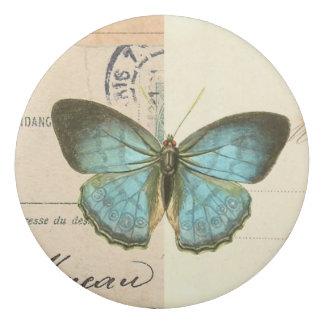 美しく、フェミニンなヴィンテージの蝶消す物 消しゴム