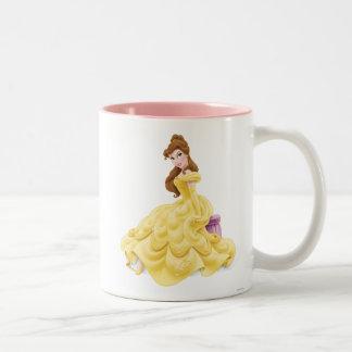 美女のモデル ツートーンマグカップ