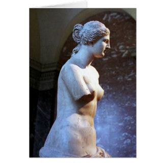 美女の彫刻のauのルーバーmusée カード