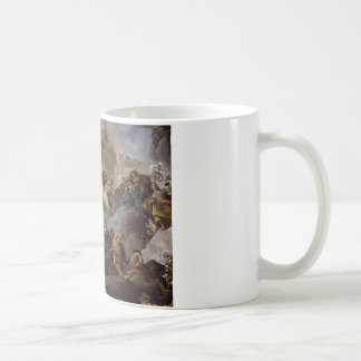美徳および能力で司会しているプロヴィデンス コーヒーマグカップ
