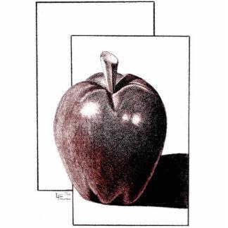 美術教師のためのAPPLE 写真彫刻(台付き)