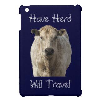 """""""群れを牛走行します""""西部Charolaisの持って下さい iPad Mini Case"""