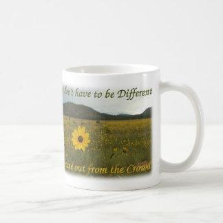 群集から際立って下さい コーヒーマグカップ