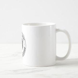 群集のマグの北の精神パッチ コーヒーマグカップ