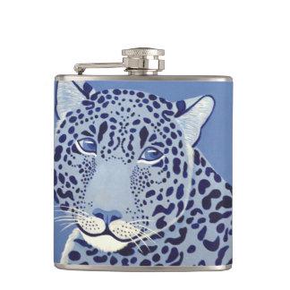 群青色のジャガーのフラスコ フラスク