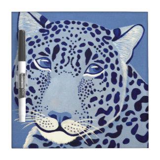 群青色のジャガーのホワイトボード ホワイトボード