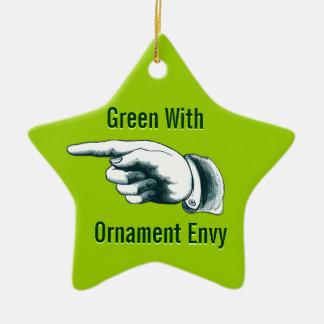 羨望の緑 セラミックオーナメント